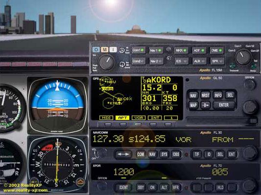 flightline apollo features reality xp simulation rh reality xp com Apollo Radio Nav Apollo Gx50