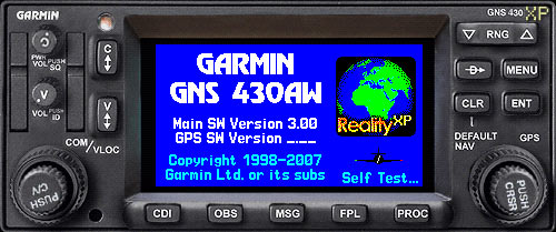 GNS 430W XP: Features - Reality XP Simulation